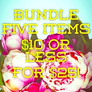BUNDLE DEAL plus Discounted Shipping!